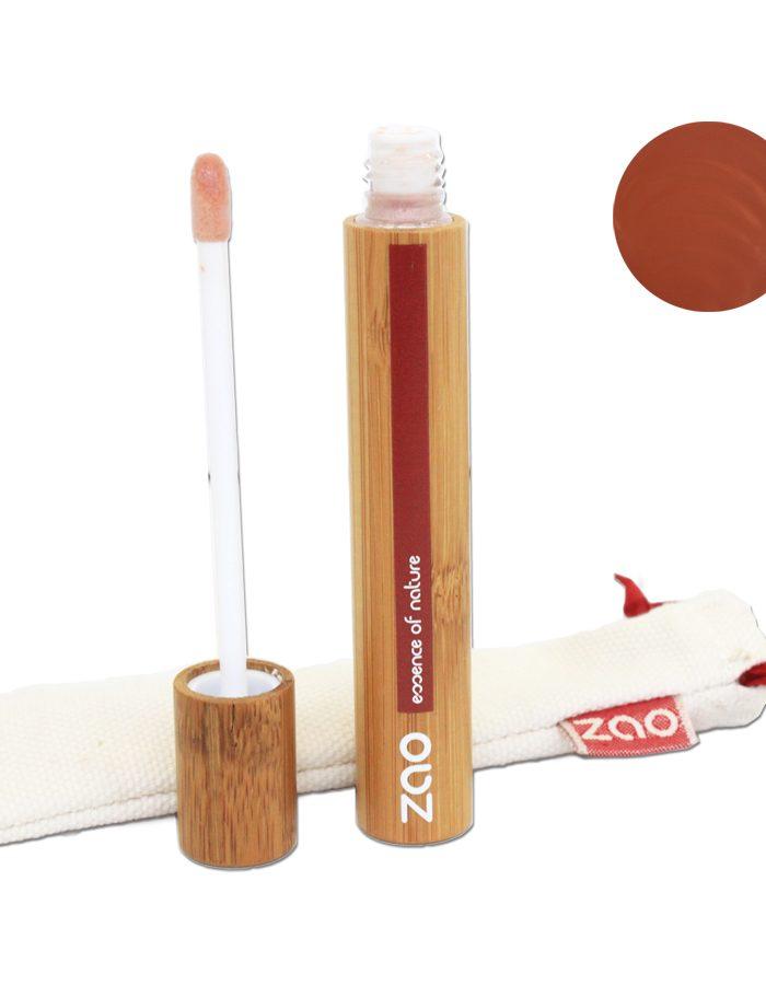 Gloss brun zao make up 004