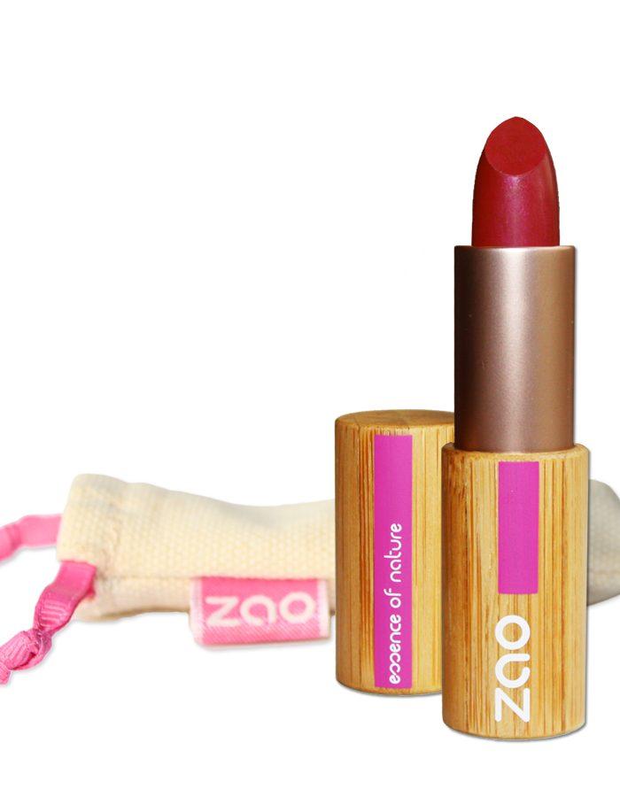 ROuge à lèvres mat zao amake up bambou 463