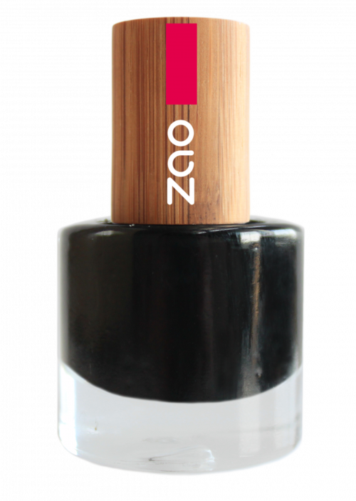 Vernis à ongles Zao Make up 644_Noir www.nabao.fr