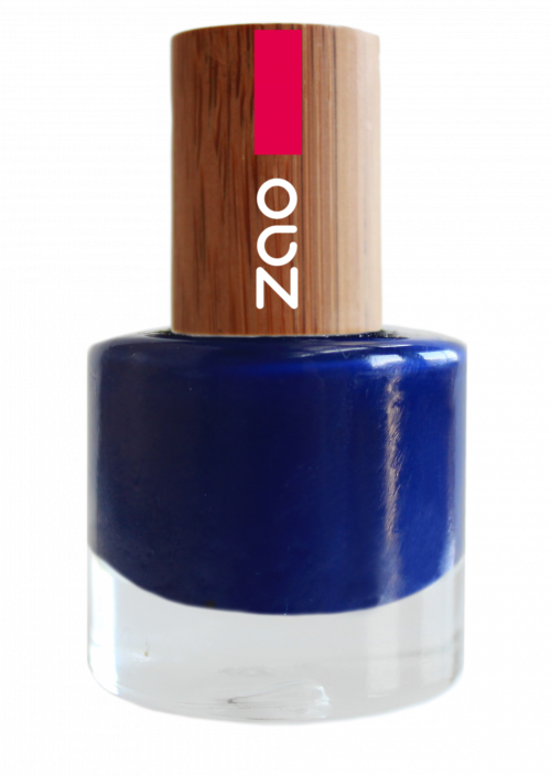 vernis à ongles zao make up _653_Bleu