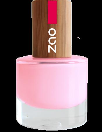 vernis à ongles Zao make up 654_Rose www.nabao.fr