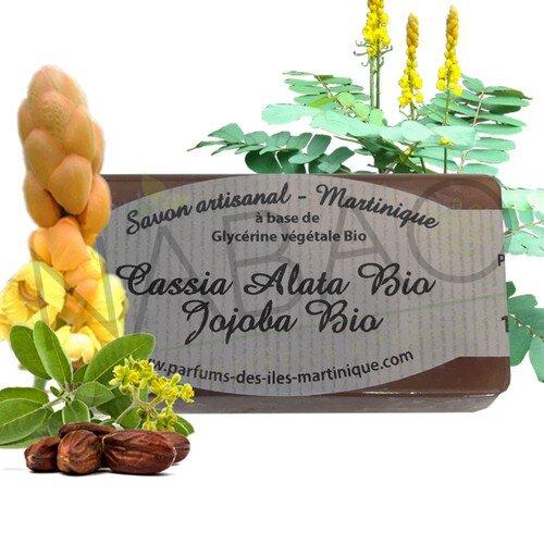 Cassia alata bio jojoba bio www.nabao.fr