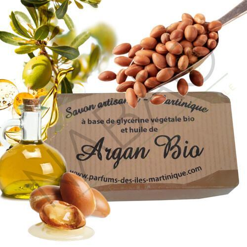 Savon huile d'argan bio www.nabao.fr