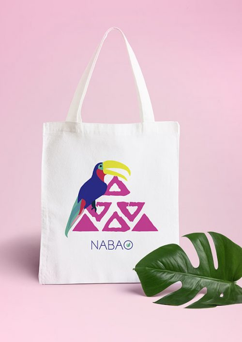 tote bag tropical Nabao