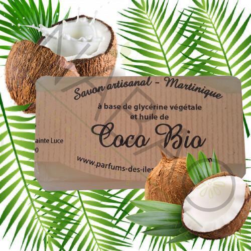Savon glycérine huile de coco bio www.nabao.fr