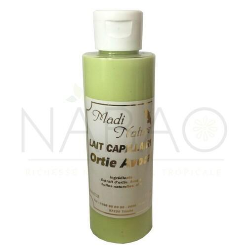 lait capillaire ortie avocat www.nabao.fr