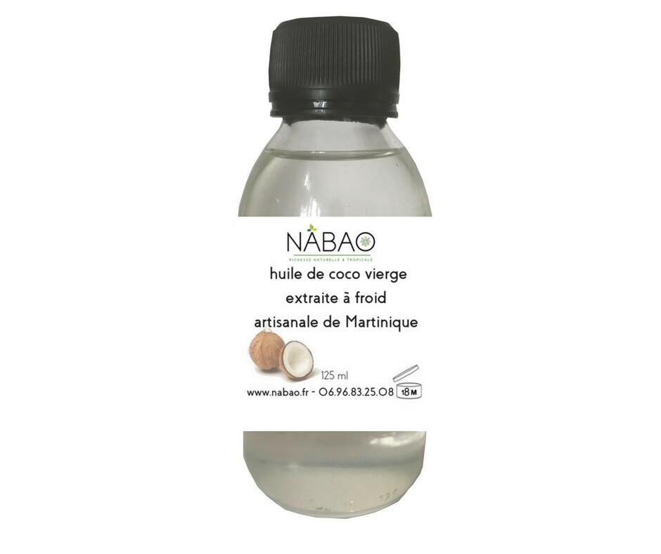 huile de coco vierge Martinique www.nabao.fr