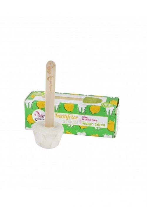 Dentifrice solide sauge-citron 17gr Lamazuna