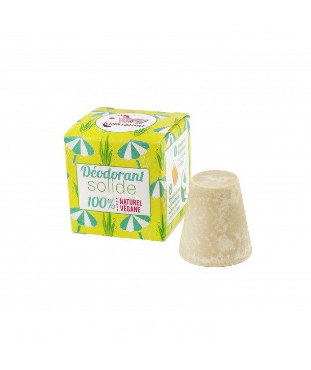 déodorant solide végane palmarosa 30gr Lamazuna