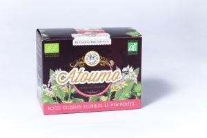 20 tisanes Atoumo bio infusion premium Herboristerie créole 30gr