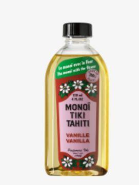 PURE MONOÏ TIKI TAHITI VANILLE 120ML 100%MadeinTahiti