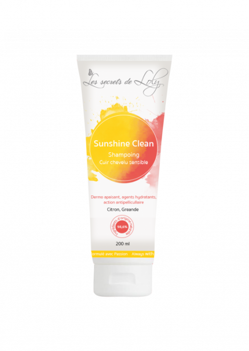 Shampoing Sunshine Clean Les secrets de loly 200ml