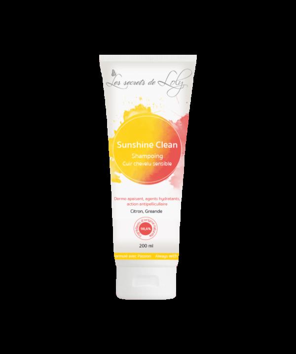 Shampoing Sunshine Clean Les secrets de loly 200ml