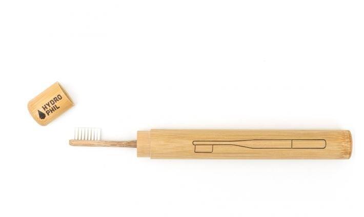 Étui à brosse à dents en bambou natural hydrophil