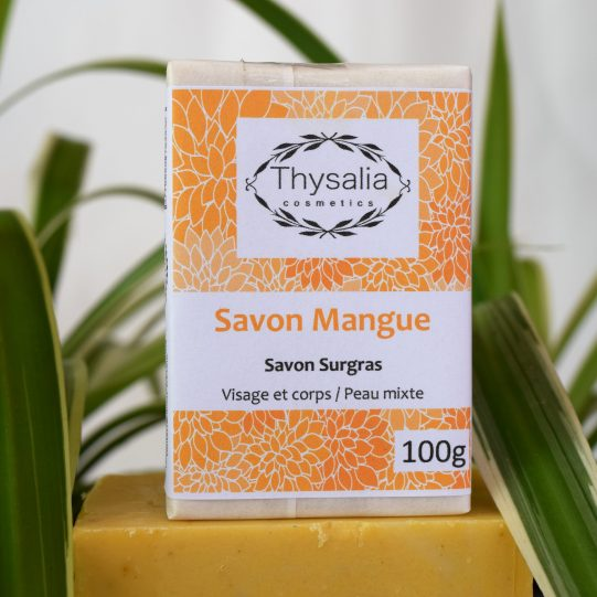 Savon surgras visage et corps mangue Thysalia 100gr