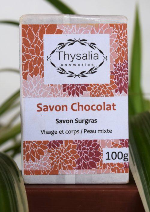 Savon surgras visage et corps Chocolat Thysalia 100gr
