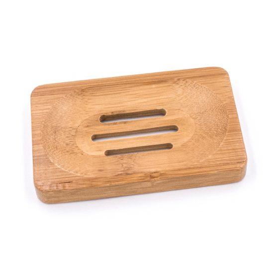 Porte savon/shampoing bar en Bambou