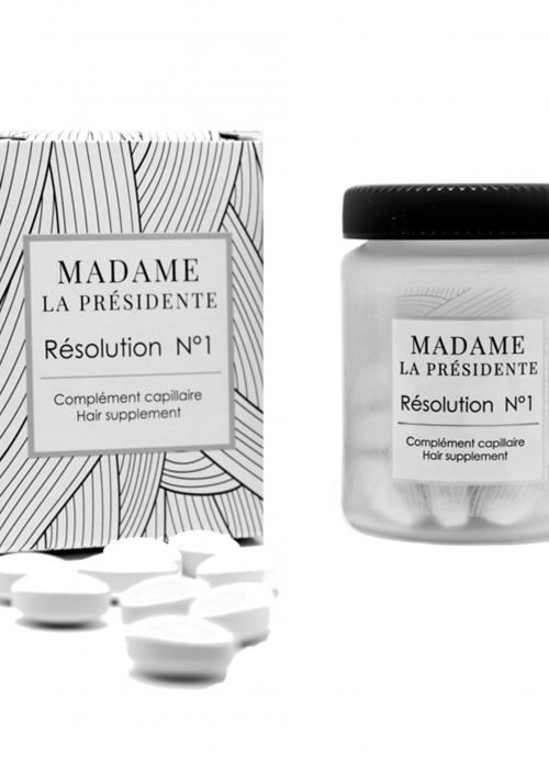 Cure de 1 mois Résolution N°1 MADAME LA PRÉSIDENTE www.nabao.fr