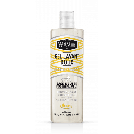 Gel lavant doux base neutre WAAM 400ml