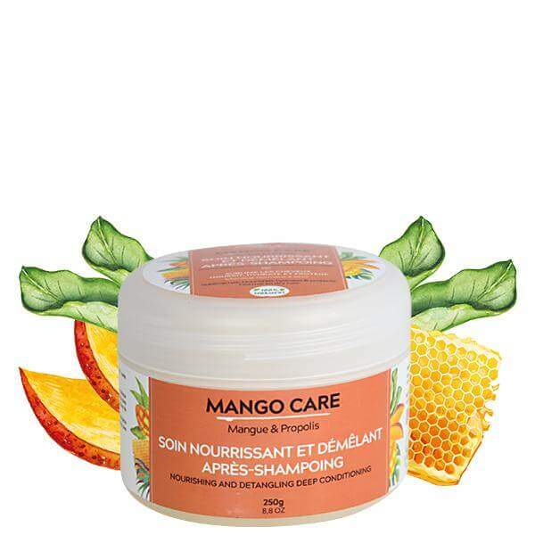Soin nourrissant et démêlant mango care mango butter